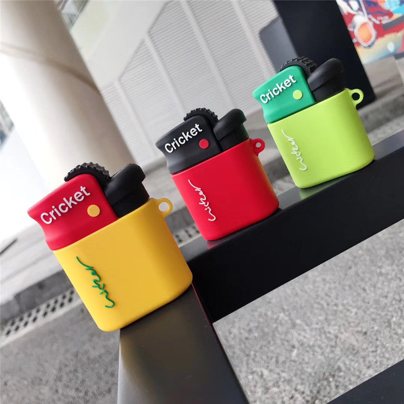 Cricket's Lighter Shaped Airpods Case - Fashion Airpods Cases - TomorrowSummer