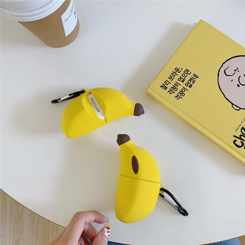 Banana Shaped Airpods Case - Food Airpods Cases - TomorrowSummer