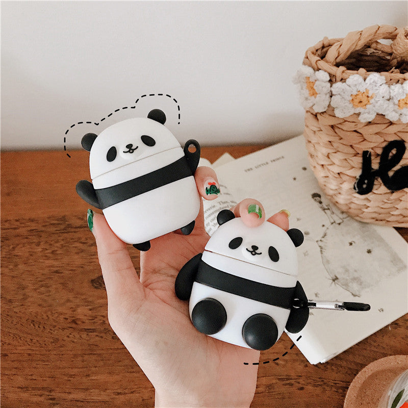 Cute Panda Airpods Case - Animal Airpods Cases - TomorrowSummer