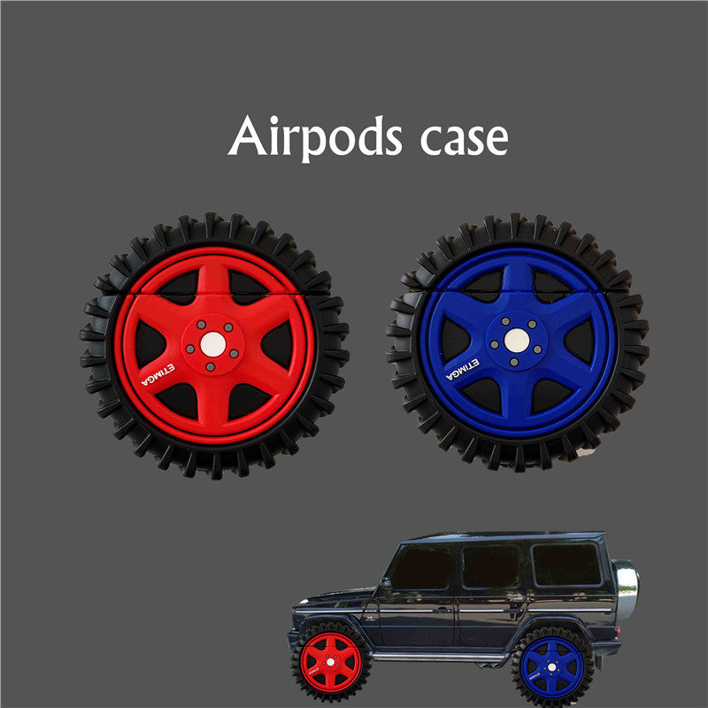 Tire Shaped Airpods Case -  - TomorrowSummer