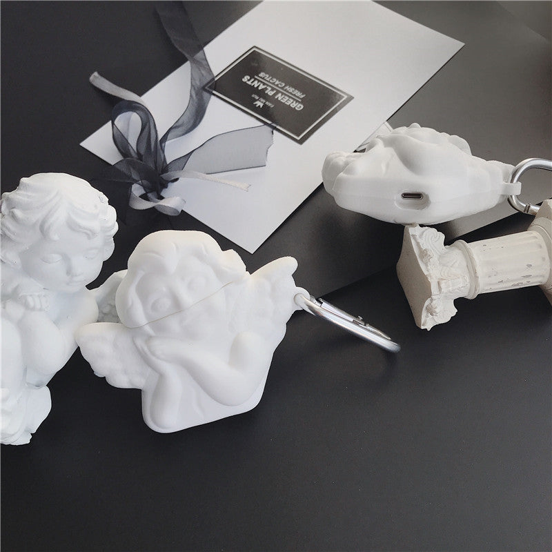 Carved Angel Airpods Case - Popular Airpods Cases - TomorrowSummer