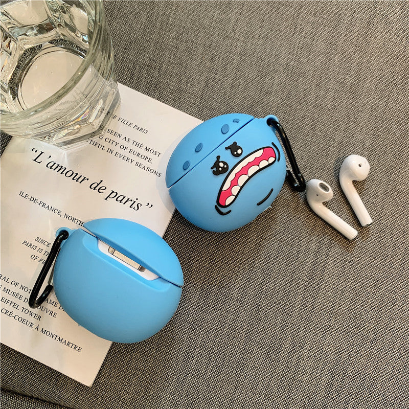 Rick and Morty Mr.Meeseeks Airpods Case Meeseeks and Destroy - Fashion Airpods Cases - TomorrowSummer