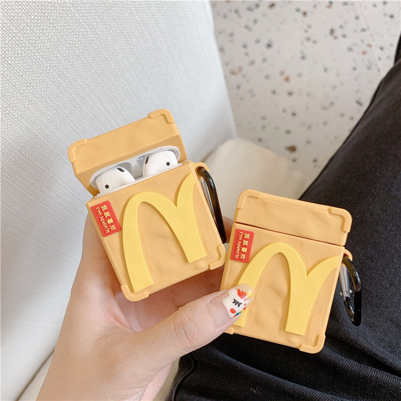 McDonald's Bag Shaped Airpods Case - Food Airpods Cases - TomorrowSummer
