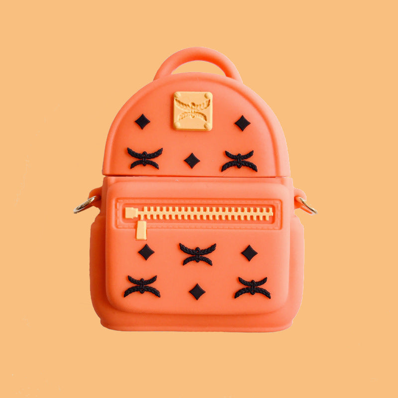 Fashion Backpack Shaped Airpods Case - Fashion Airpods Cases - TomorrowSummer