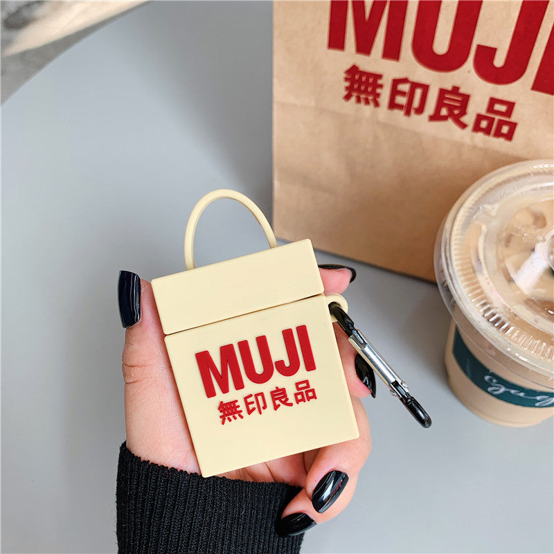 MUJI Bag Shaped Airpods Case - Fashion Airpods Cases - TomorrowSummer