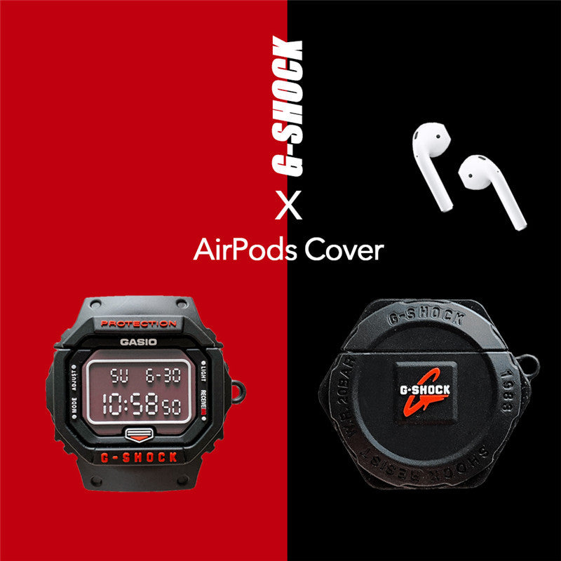 Cool Watch Shaped Airpods Case - Fashion Airpods Cases - TomorrowSummer