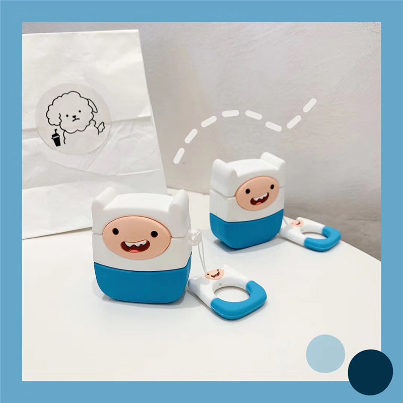 Adventure Time Finn Airpods Case - Animation Airpods Cases - TomorrowSummer