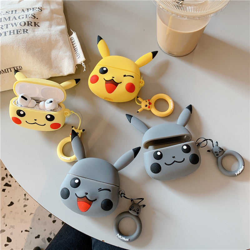 Cute Pikachu Airpods Pro Case -  - TomorrowSummer