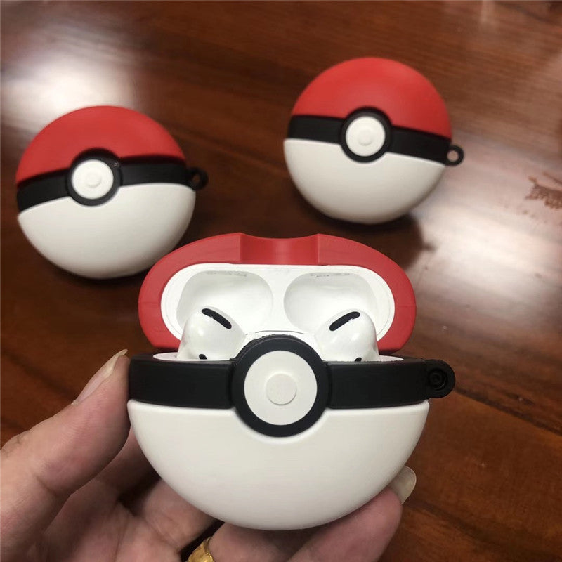 Pokemon Pokeball Shaped Airpods Pro Case -  - TomorrowSummer