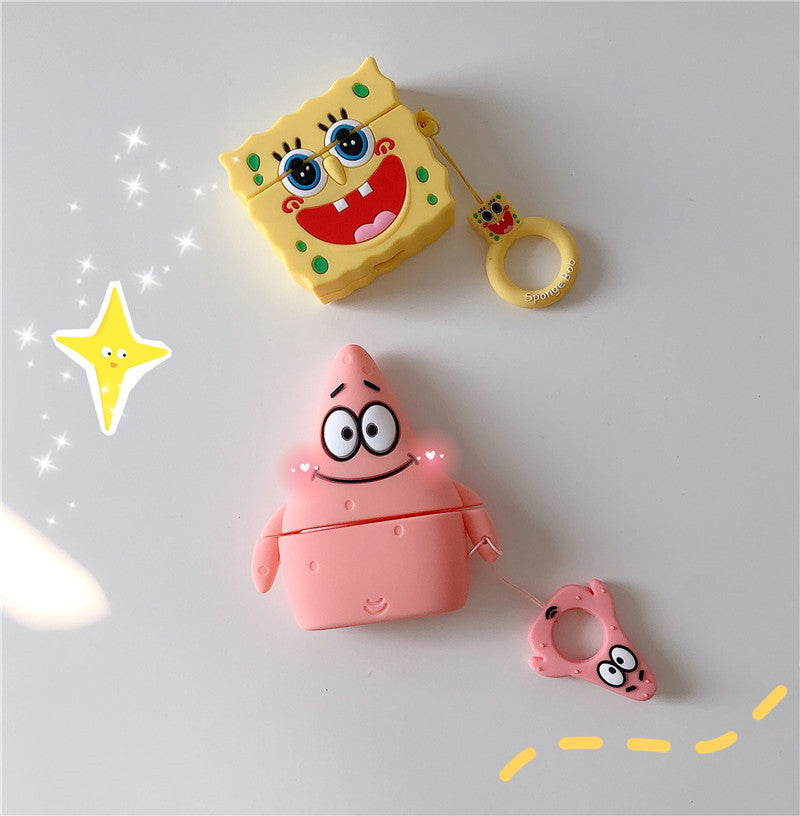 Patrick Star & Spongebob Airpods Pro Case -  - TomorrowSummer