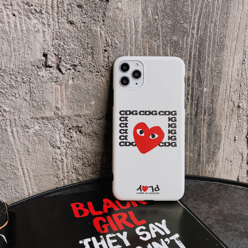 CDG PLAY iPhone Case