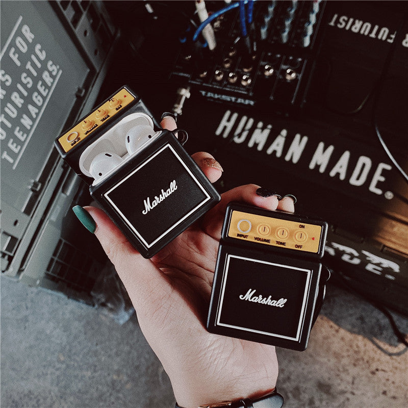 Marshall Spearker Shaped Airpods Pro Case - Fashion Airpods Cases - TomorrowSummer