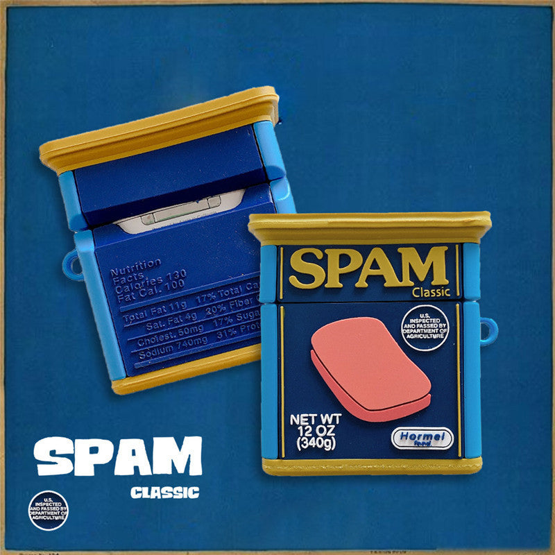 SPAM Luncheon Meat Airpods Case - Food Airpods Cases - TomorrowSummer