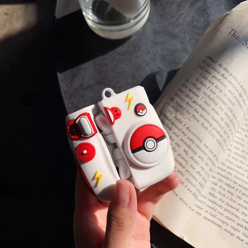 Cute Pokemon Polaroid Camera Airpods Pro Case - Popular Airpods Cases - TomorrowSummer