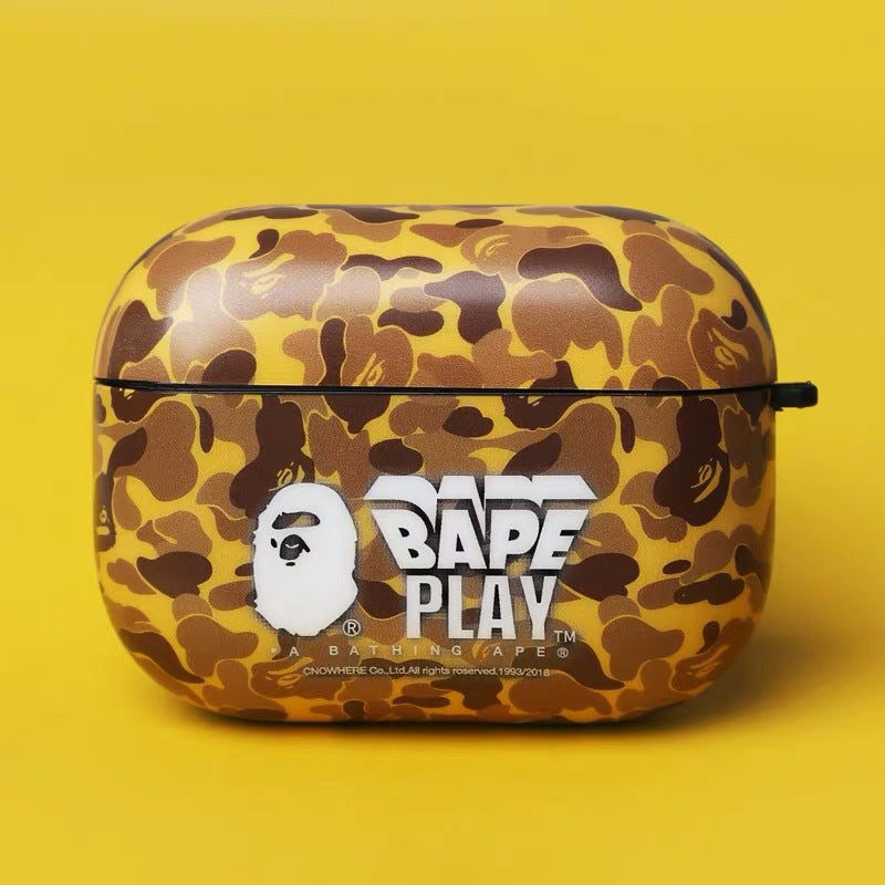 Camouflage BAPE Airpods Case - Fashion Airpods Cases - TomorrowSummer