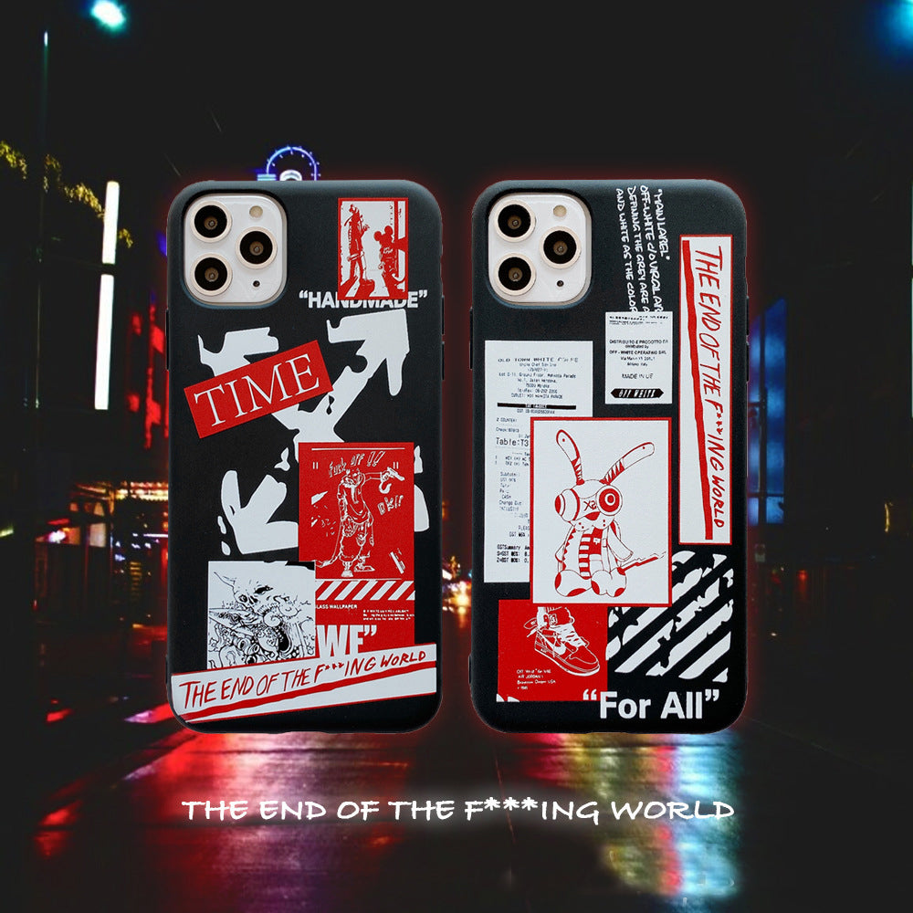 Off White X FR2 iPhone Case -  - TomorrowSummer