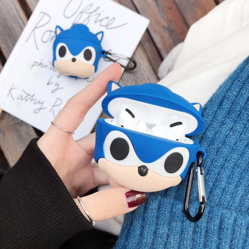 Sonic The Hedgehog Airpods Pro Case - Fashion Airpods Cases - TomorrowSummer