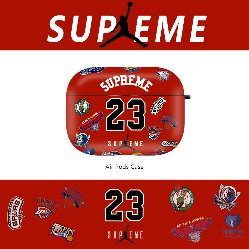 AJ X Supreme Airpods Case - Fashion Airpods Cases - TomorrowSummer