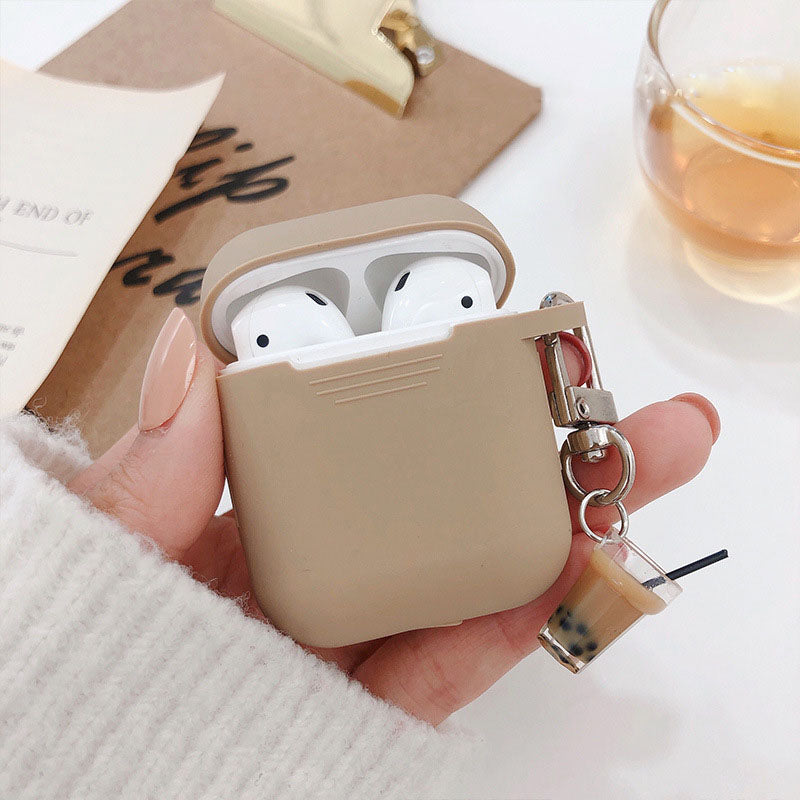 Brown Bubble Tea Airpods Case - Food Airpods Case - TomorrowSummer