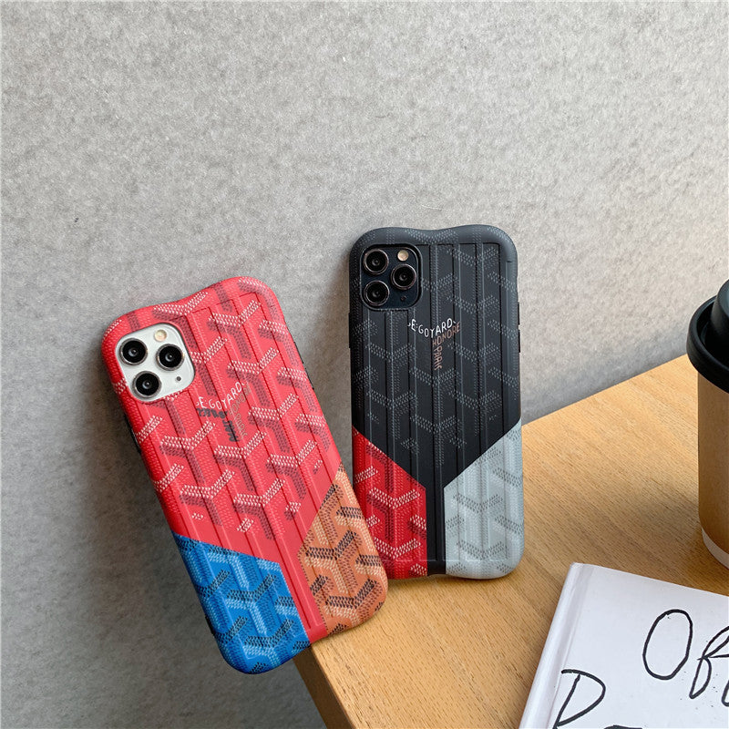 Fashion Colorblock iPhone Case -  - TomorrowSummer