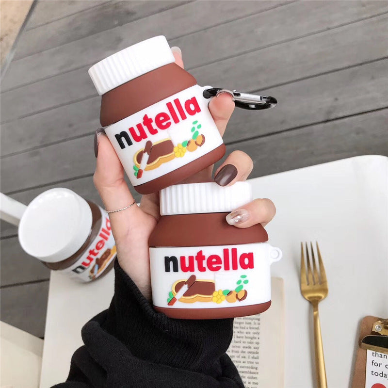 Nutella Chocolate Hazelnut Spread Airpods Case - Food Airpods Cases - TomorrowSummer
