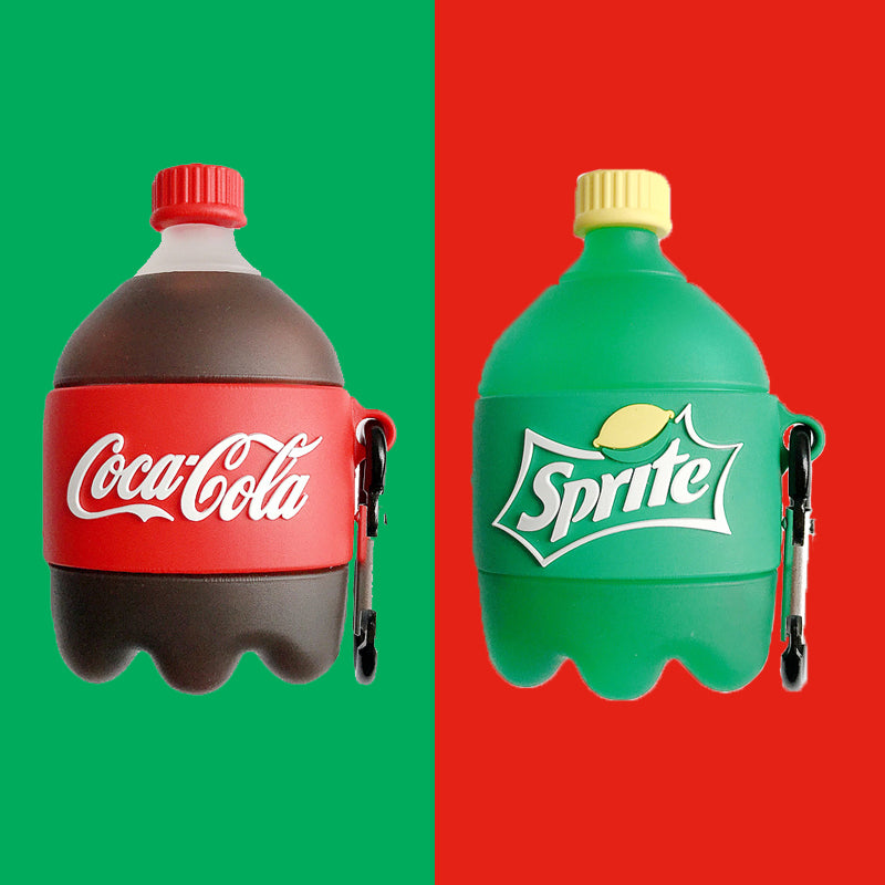 Coca Cola and Sprite Bottle Airpods Case - Food Airpods Cases - TomorrowSummer