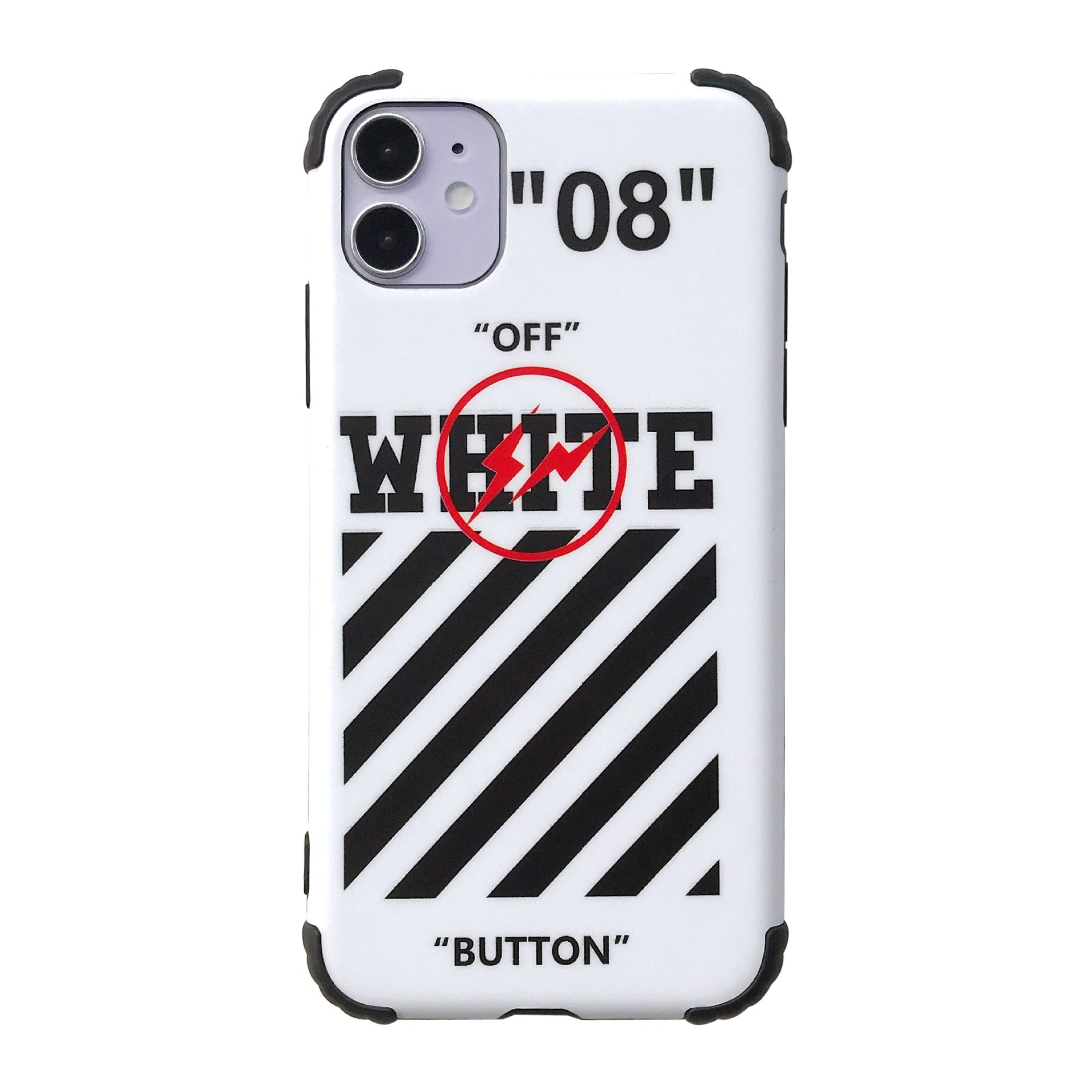 Off White Anti-fall iPhone Case -  - TomorrowSummer