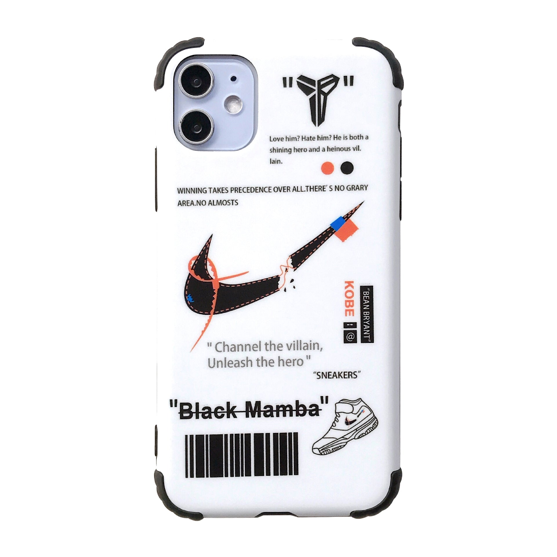Off White x AJ Anti-fall iPhone Case -  - TomorrowSummer