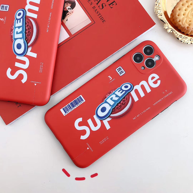 Sup x Oreo iPhone Case