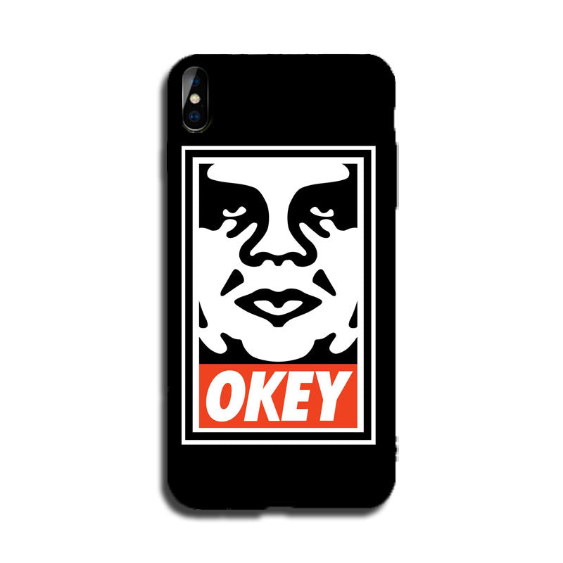 OKEY Logo Lightening LED Flash Voice Music Control iPhone Case -  - TomorrowSummer