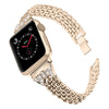 Rhinestone Butterfly Stainless Steel Strap For Apple Watch Series 1,2,3,4 -  - TomorrowSummer
