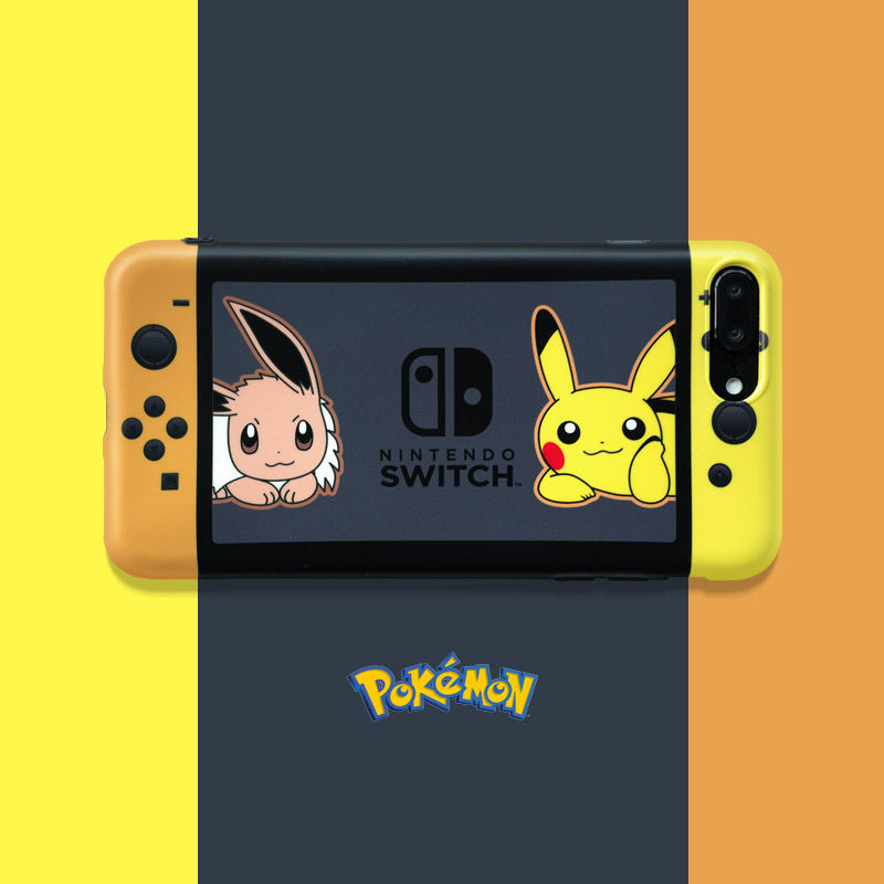 Pokemon Switch iPhone Case