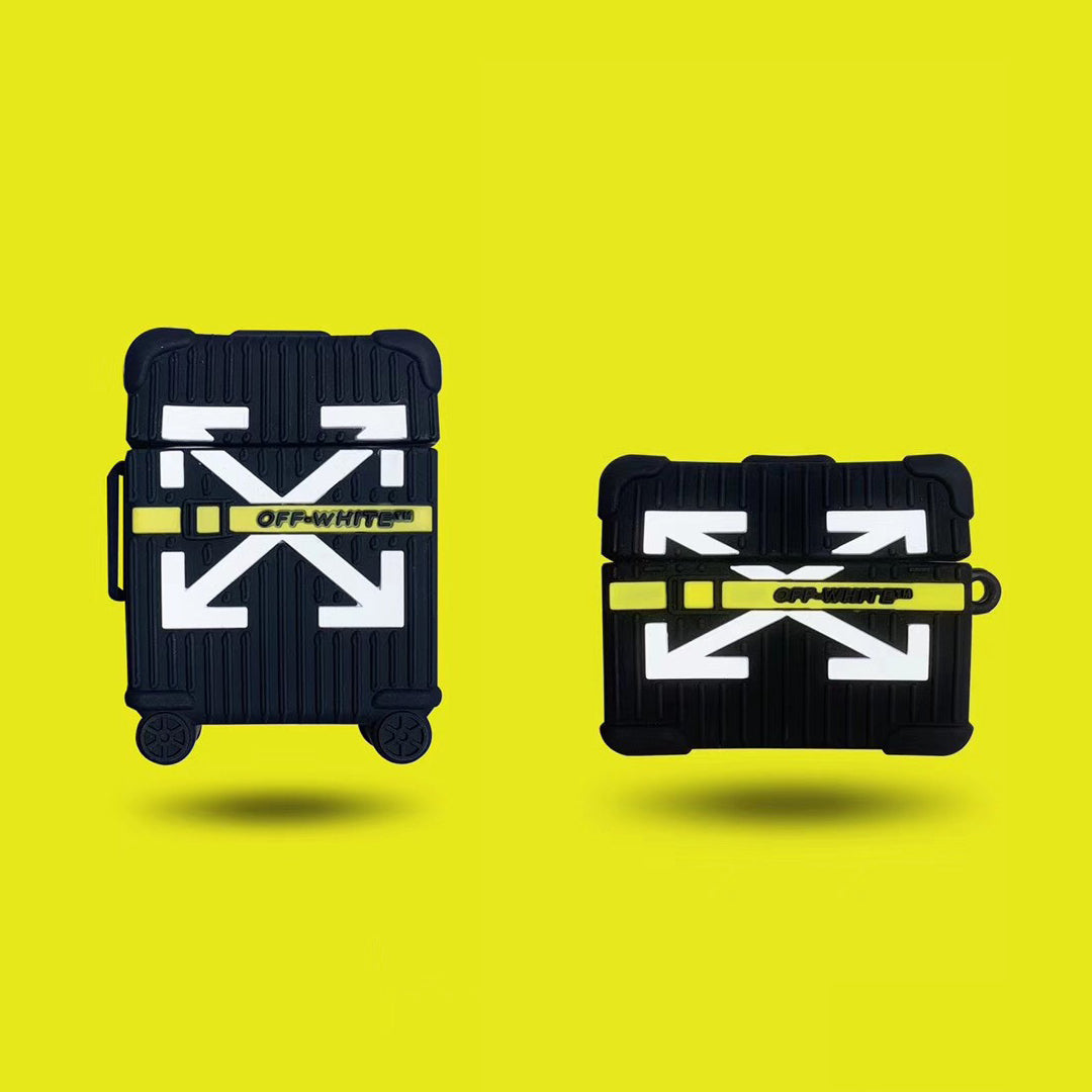 OFF-WHITE Suitcase Airpods Pro Case - Fashion Airpods Cases - TomorrowSummer