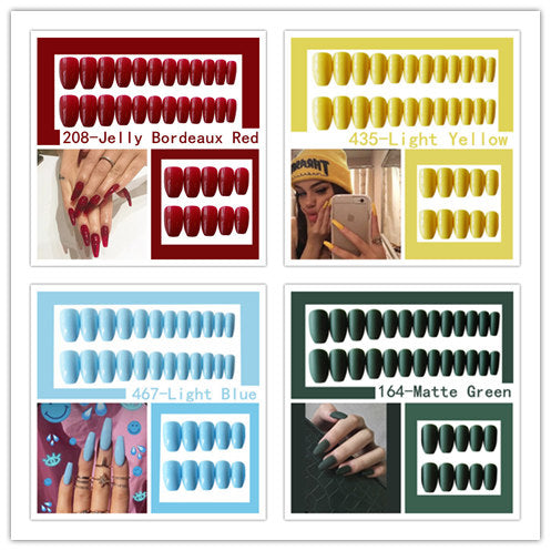 JELLY 23 COLORS NAILS -  - TomorrowSummer
