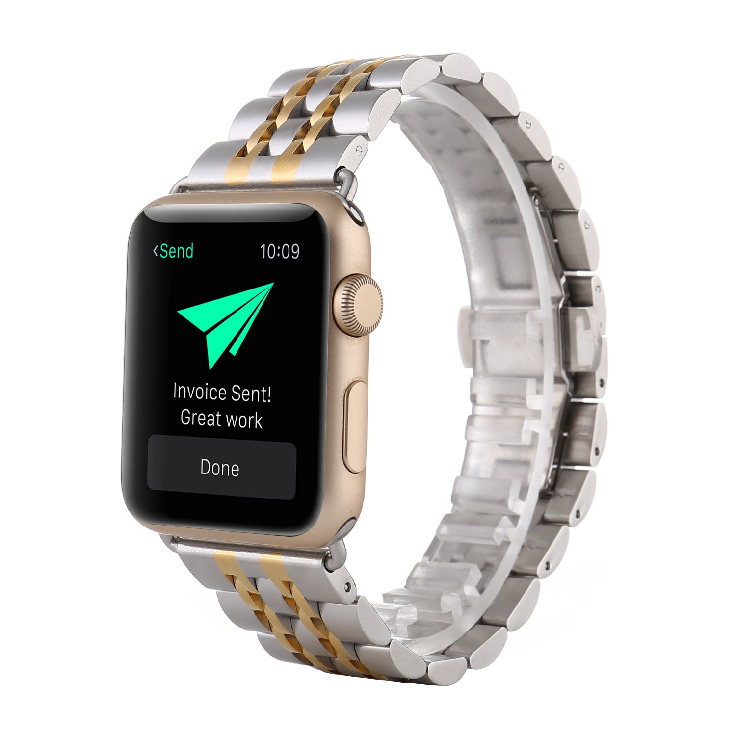 Metal Color Mixing Stainless Steel Strap For Apple Watch Series 1,2,3,4 -  - TomorrowSummer