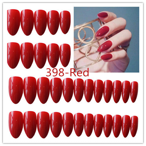 STILETTO JELLY 10 COLORS FAKE NAILS -  - TomorrowSummer