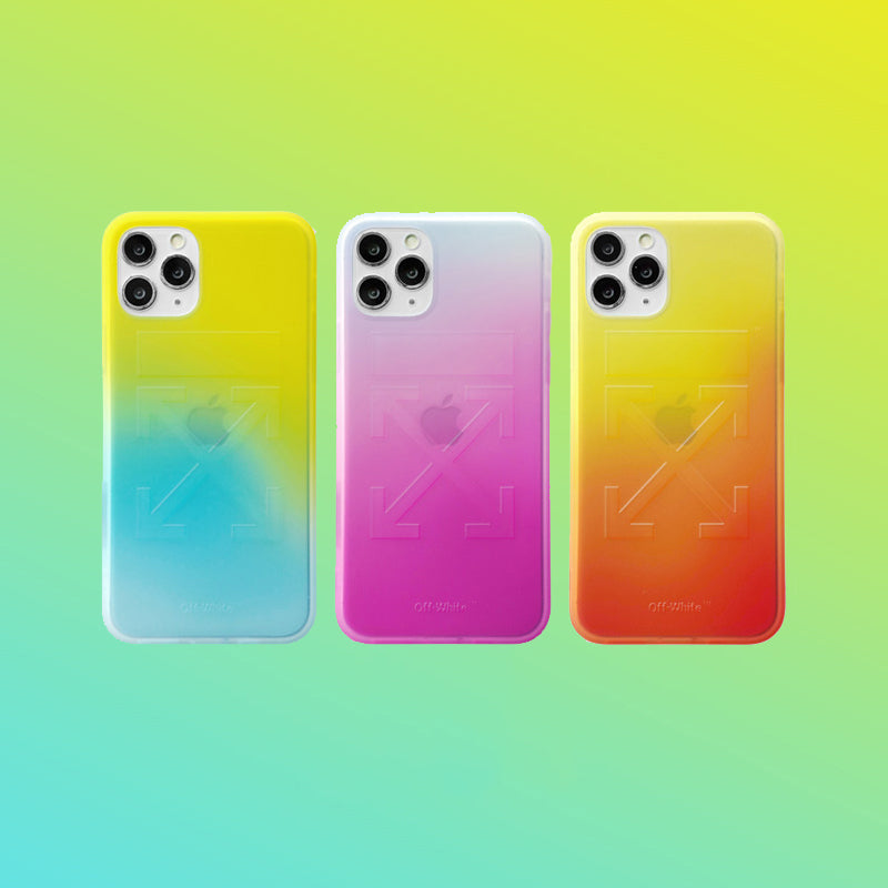 Gradient Color OW iPhone Case