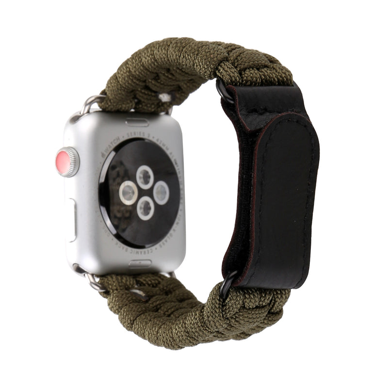 Outdoor Military Band Velcro Strap For Apple Watch Series 1,2,3,4 -  - TomorrowSummer