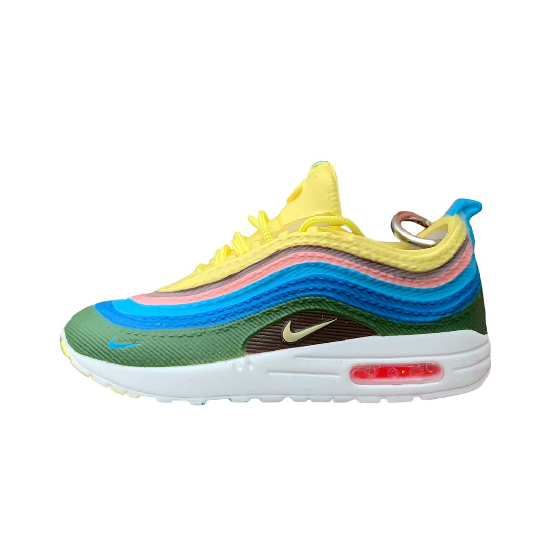 Air Max 1/97 VF Nike x Sean Wotherspoon Mini Sneaker(Tiny Sneaker) Keychain -  - TomorrowSummer