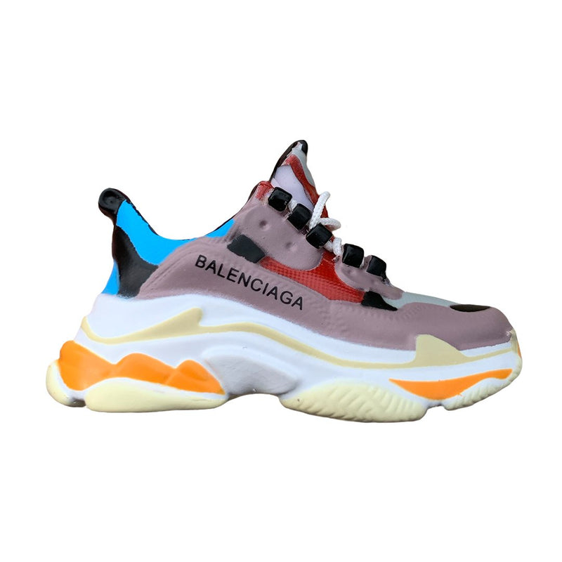 Balenciaga Triple S Trainers Mini Sneaker(Tiny Sneaker) Keychain -  - TomorrowSummer