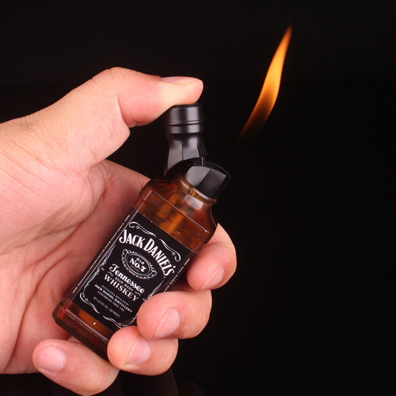 Creative Lighter Butane gas lighters Keychain -  - TomorrowSummer