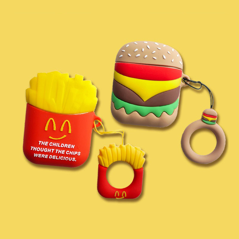 Burger&Fries Airpods TPU Case - Food Airpods Cases - TomorrowSummer