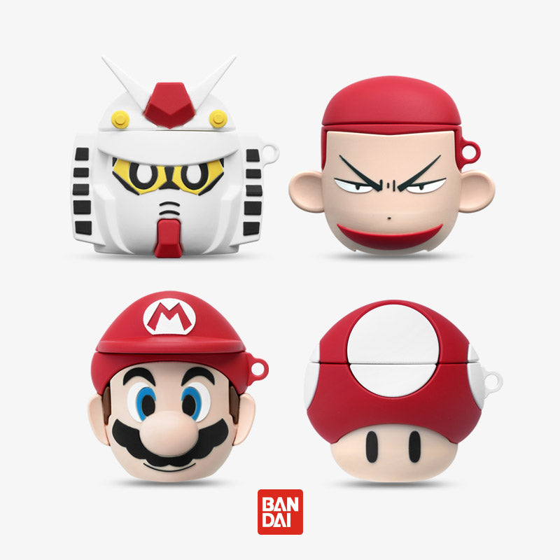 Mario & Gundam & SLamdunk Airpods Case -  - TomorrowSummer