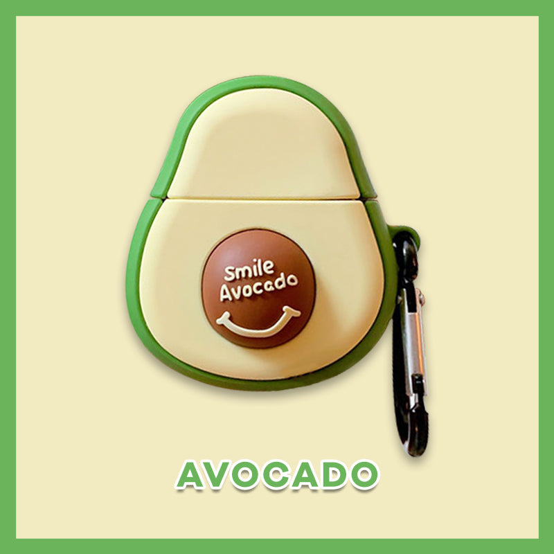 Super Cute Avocado AirPods Case -  - TomorrowSummer