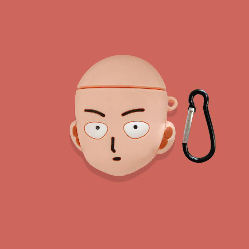One Punch Man Saitama Airpods Case -  - TomorrowSummer