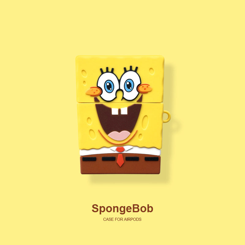 Spongebob Airpods Case -  - TomorrowSummer