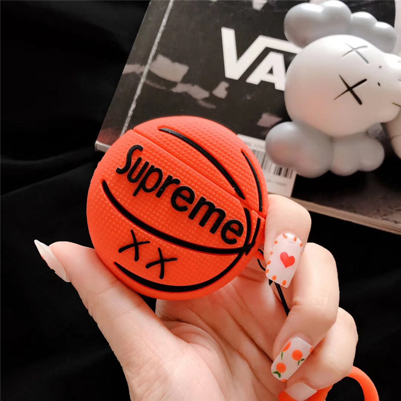 Sup Basketball Shaped Airpods Case -  - TomorrowSummer