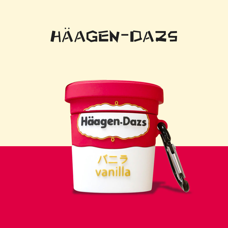 Häagen-Dazs Ice Cream Shaped Airpods Case -  - TomorrowSummer
