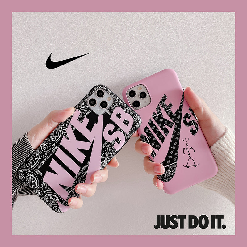 Nike Paisley Pattern iPhone Case