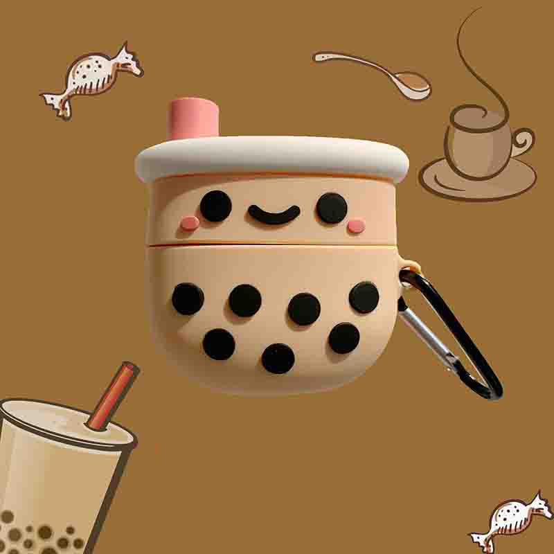 Bubble Tea Airpods Pro Case - Food Airpods Cases - TomorrowSummer